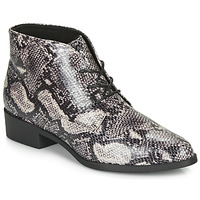 Zapatos Mujer Botas de caña baja André NECTARINE Gris