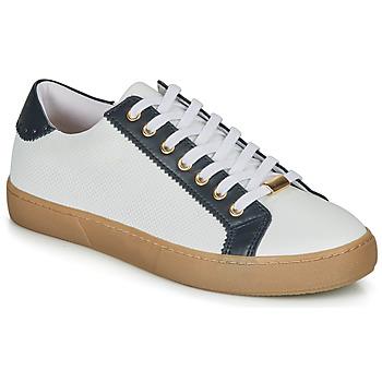 Zapatos Mujer Zapatillas bajas André BERKELEY Blanco / Estampado
