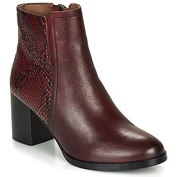 Zapatos Mujer Botines André NILA Burdeo
