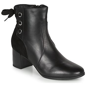Zapatos Mujer Botines André MANON Negro