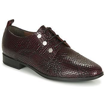 Zapatos Mujer Derbie André NIL Burdeo