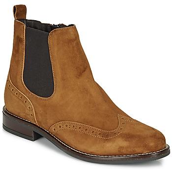 Zapatos Mujer Botas de caña baja André ECLUSINE Camel