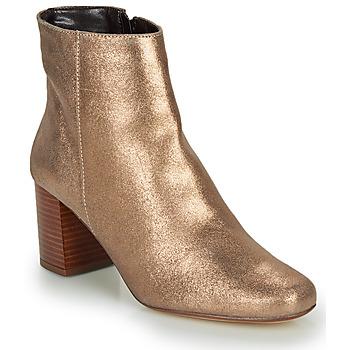 Zapatos Mujer Botines André LAPA Dorado
