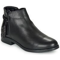 Zapatos Mujer Botas de caña baja André MILOU Negro