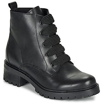 Zapatos Mujer Botas de caña baja André ELISE Negro