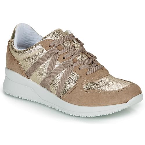 Zapatos Mujer Zapatillas bajas André ALLURE Dorado