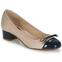Zapatos Mujer Bailarinas-manoletinas André POEMINE Beige