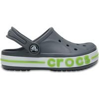 Zapatos Niños Zuecos (Clogs) Crocs™ Crocs™ Bayaband Clog Kid's Charcoal
