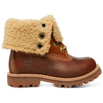Zapatos Niños Botas de caña baja Timberland Auth 6in shrl bt Marrón
