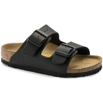 Zapatos Niños Zuecos (Mules) Birkenstock Arizona bf Negro