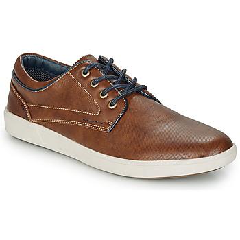 Zapatos Hombre Derbie André CHAINE Camel