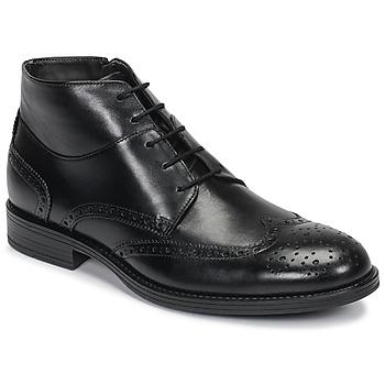 Zapatos Hombre Botas de caña baja André LORMAND Negro