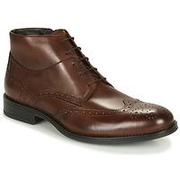 Zapatos Hombre Botas de caña baja André LORMAND Marrón