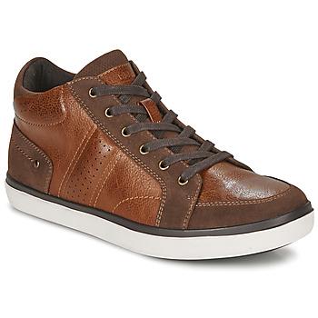 Zapatos Hombre Zapatillas altas André MOMBASSA Marrón