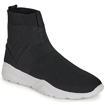 Zapatos Hombre Zapatillas altas André LUNAIRE Negro