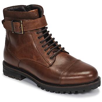 Zapatos Hombre Botas de caña baja André SANTOS Cognac