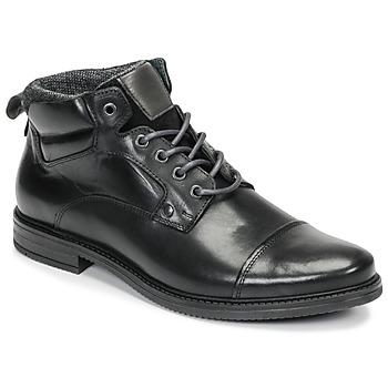 Zapatos Hombre Botas de caña baja André VABON Negro
