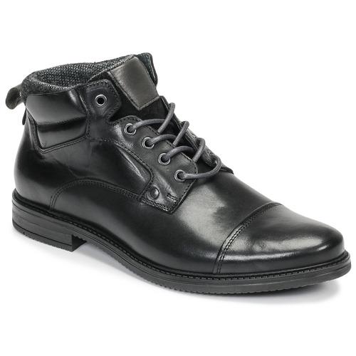 André VABON Negro - Envío gratis | ! - Zapatos Botas de caña baja Hombre