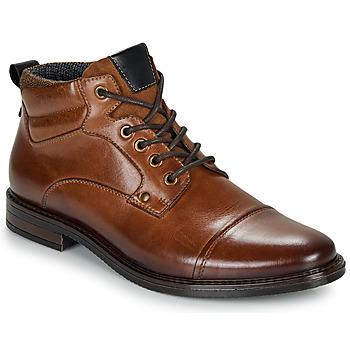 Zapatos Hombre Botas de caña baja André VABON Marrón