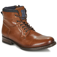 Zapatos Hombre Botas de caña baja André CLABA Cognac