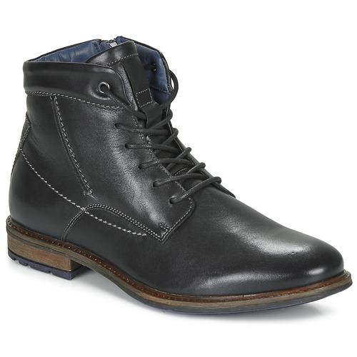 André CHIROS Negro - Envío gratis | ! - Zapatos Botas de caña baja Hombre