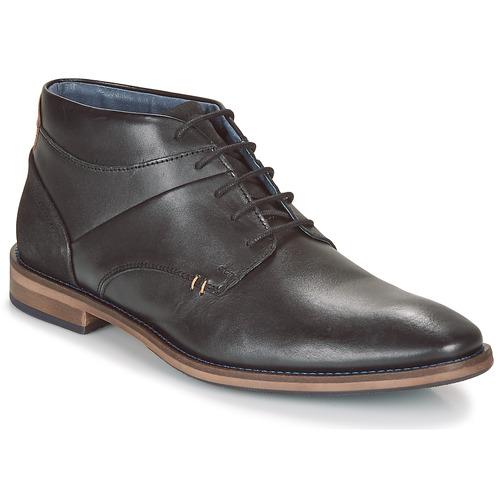 André KILWAL Negro - Envío gratis | ! - Zapatos Botas de caña baja Hombre