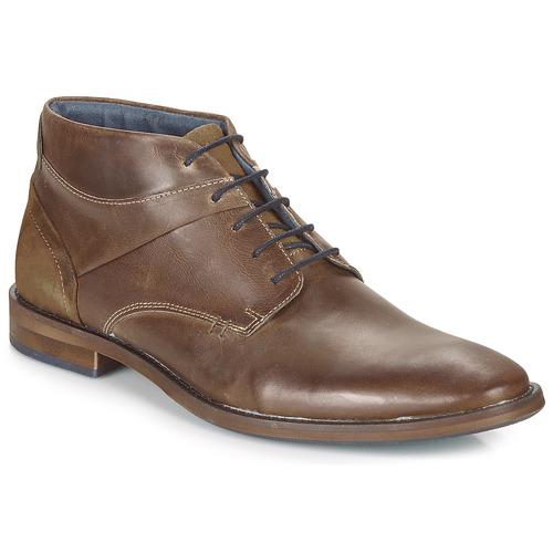 André KILWAL Marrón - Envío gratis | ! - Zapatos Botas de caña baja Hombre