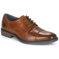 Zapatos Hombre Derbie André BYRON Cognac