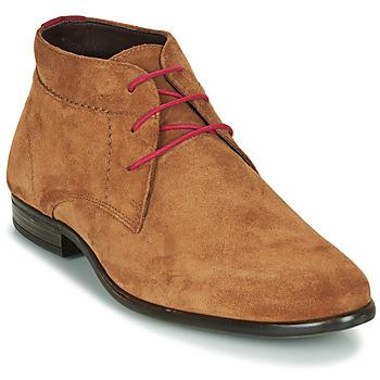 Zapatos Hombre Botas de caña baja André VELEGANT Cognac