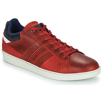 Zapatos Hombre Zapatillas bajas André SNEAKSHOES Rojo