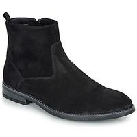 Zapatos Hombre Botas de caña baja André LEMAN Negro