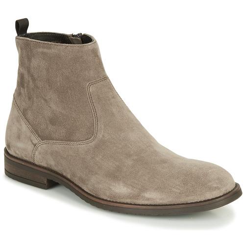 Zapatos Hombre Botas de caña baja André LEMAN Gris