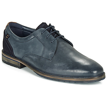 Zapatos Hombre Derbie André AIX Azul