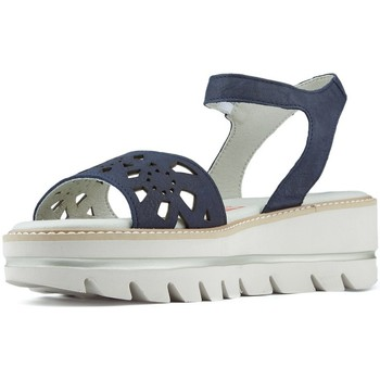 Zapatos Mujer Sandalias CallagHan S  LONG BEACH FRESH NAVY