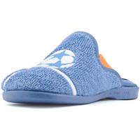 Zapatos Niño Pantuflas para bebé Vulladi TOALLA AZAFATA PORTERO AZUL