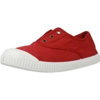 Zapatos Niña Zapatillas bajas Victoria 106627 Rojo