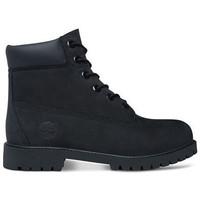 Zapatos Niños Botas de caña baja Timberland 6in prem Negro