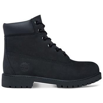 Zapatos Niños Botas de caña baja Timberland 6in prem wp Negro