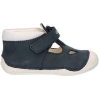 Zapatos Niño Botas de caña baja Geox B9239A 03285 B TUTIM Azul
