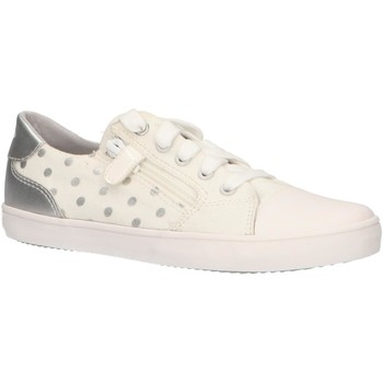 Zapatos Niña Zapatillas bajas Geox J924NC 0SBNF J GISLI Blanco