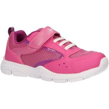 Zapatos Niña Multideporte Geox J928HA 054GN J NEW TORQUE Rosa