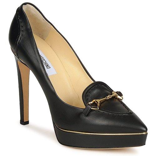 Zapatos Mujer Zapatos de tacón Moschino MA1003 Negro