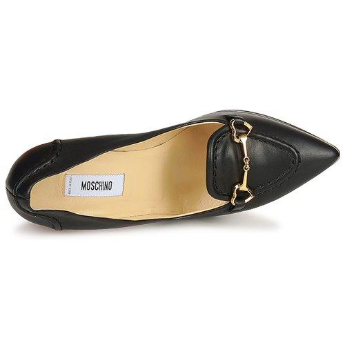 Tacón Negro De Zapatos Moschino Zapatos De hCtrQdxsB
