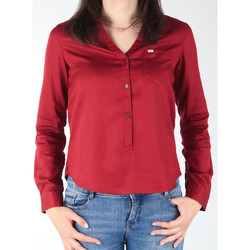 textil Mujer Camisas Lee L47QLCPR borgoña