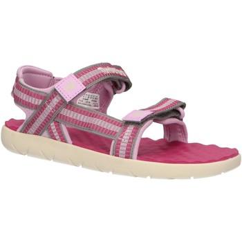 Zapatos Niña Sandalias Timberland A1QHF PERKINS Rosa
