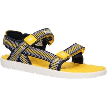 Zapatos Niños Sandalias Timberland A1YAK PERKINS Amarillo