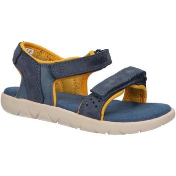 Zapatos Niños Sandalias Timberland A24J7 NUBBLE Azul