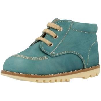 Zapatos Niño Botas de caña baja Landos 61S74 Azul