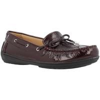 Zapatos Mujer Zapatos náuticos Geox D JAMILAH 2FIT Marron