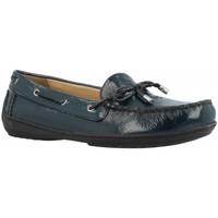 Zapatos Mujer Zapatos náuticos Geox D JAMILAH Azul